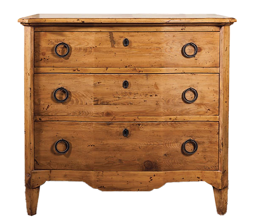 Old Pine Breakfront Chest