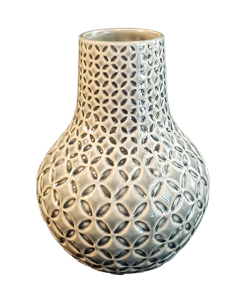 Ceramic Patterns Vase