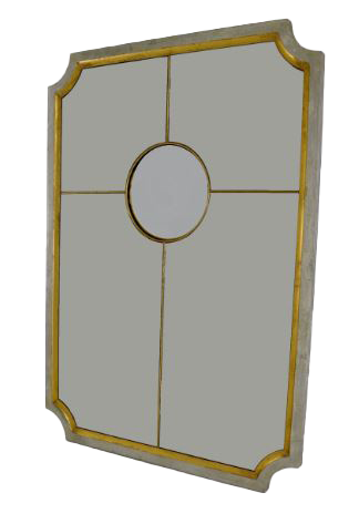 Divided Mirror with Convex Center