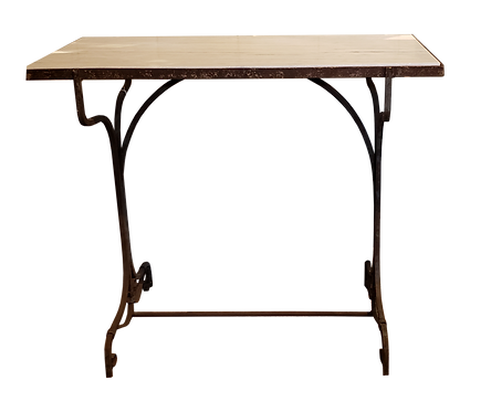 Marble & Iron Table