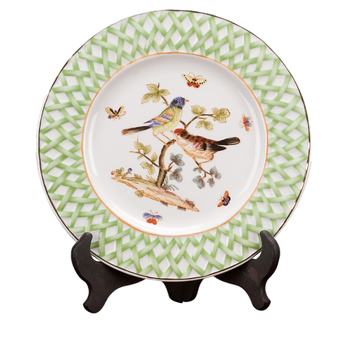 Bird & Basket Decorative Plate