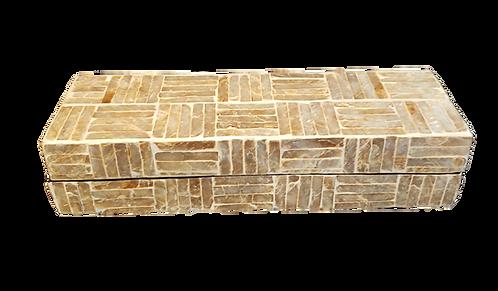 Criss-Cross Mosaic Box