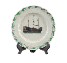 Decorative Boat Plate