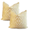 Thumbnail: Citron Figured Woven Pillow - Pair