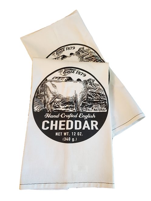 Cheese Label Hand Towel
