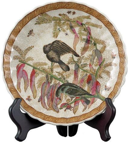 Bird & Fauna Decorative Plate