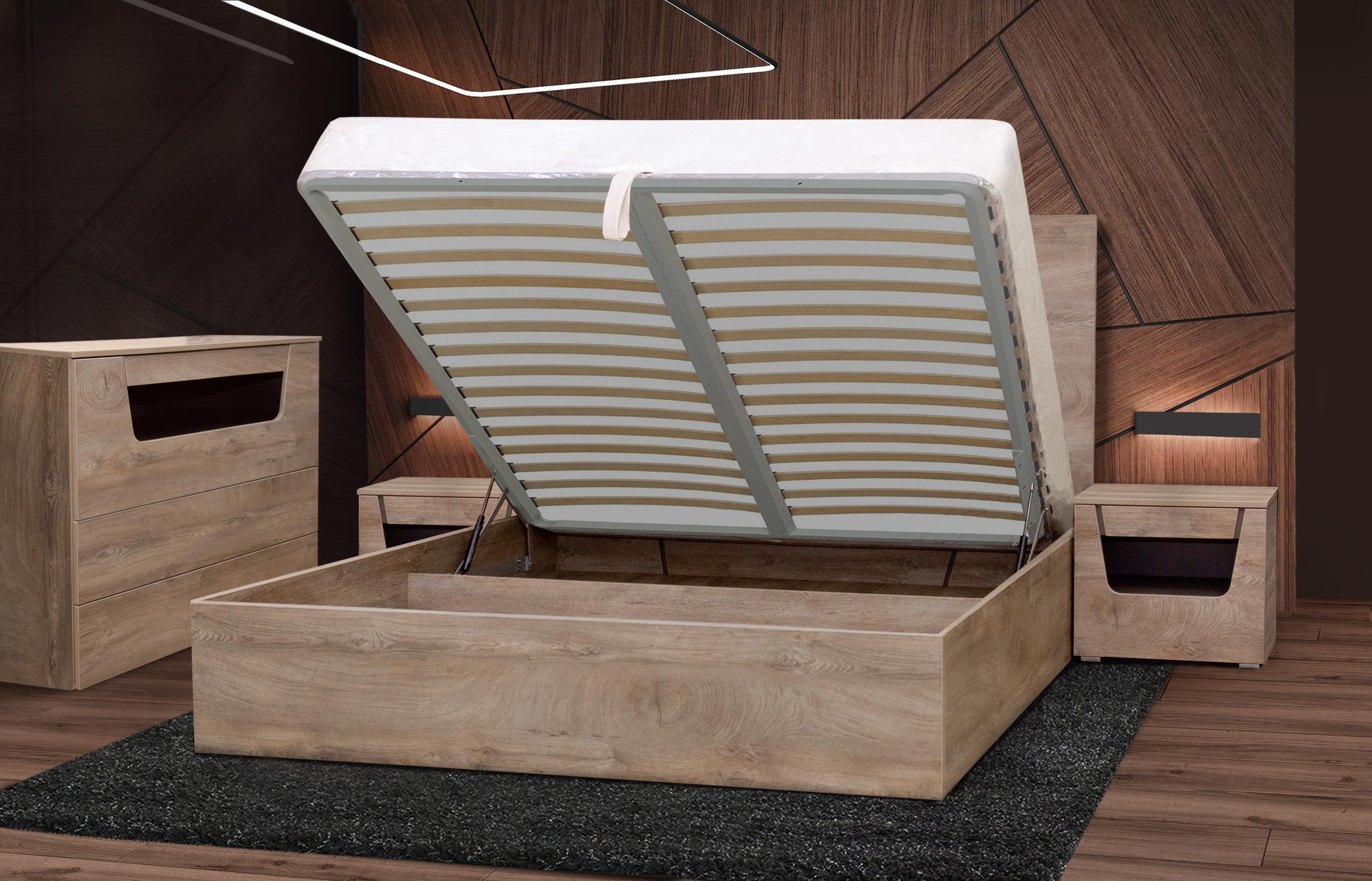 спальня Лилия с комодом-2
