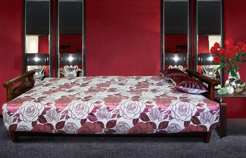 Римма 4 (деревянные подлокотники) спальное место