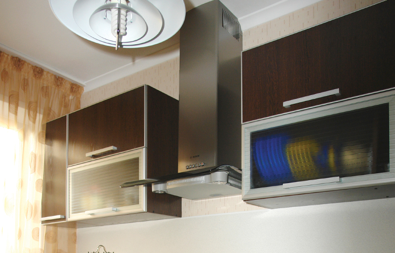 кухонный гарнитур 1. вытежка