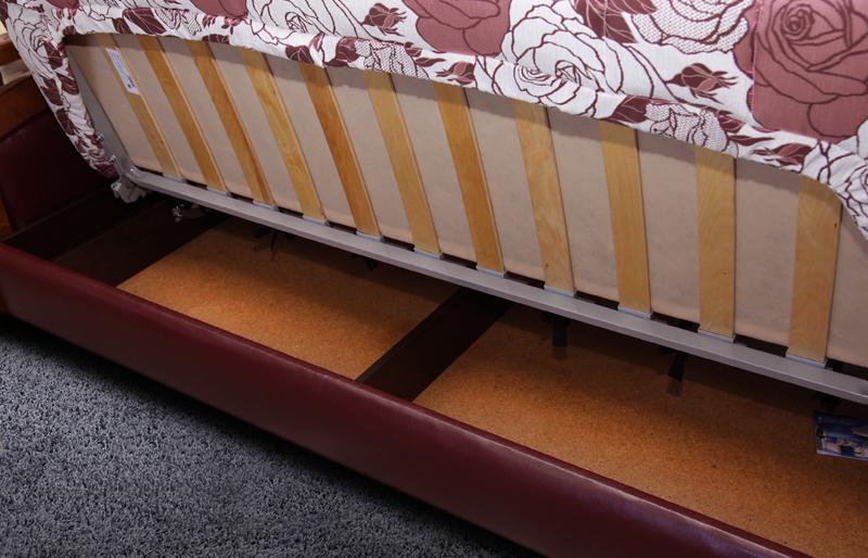 Римма 4 (деревянные подлокотники) ящик с бельём