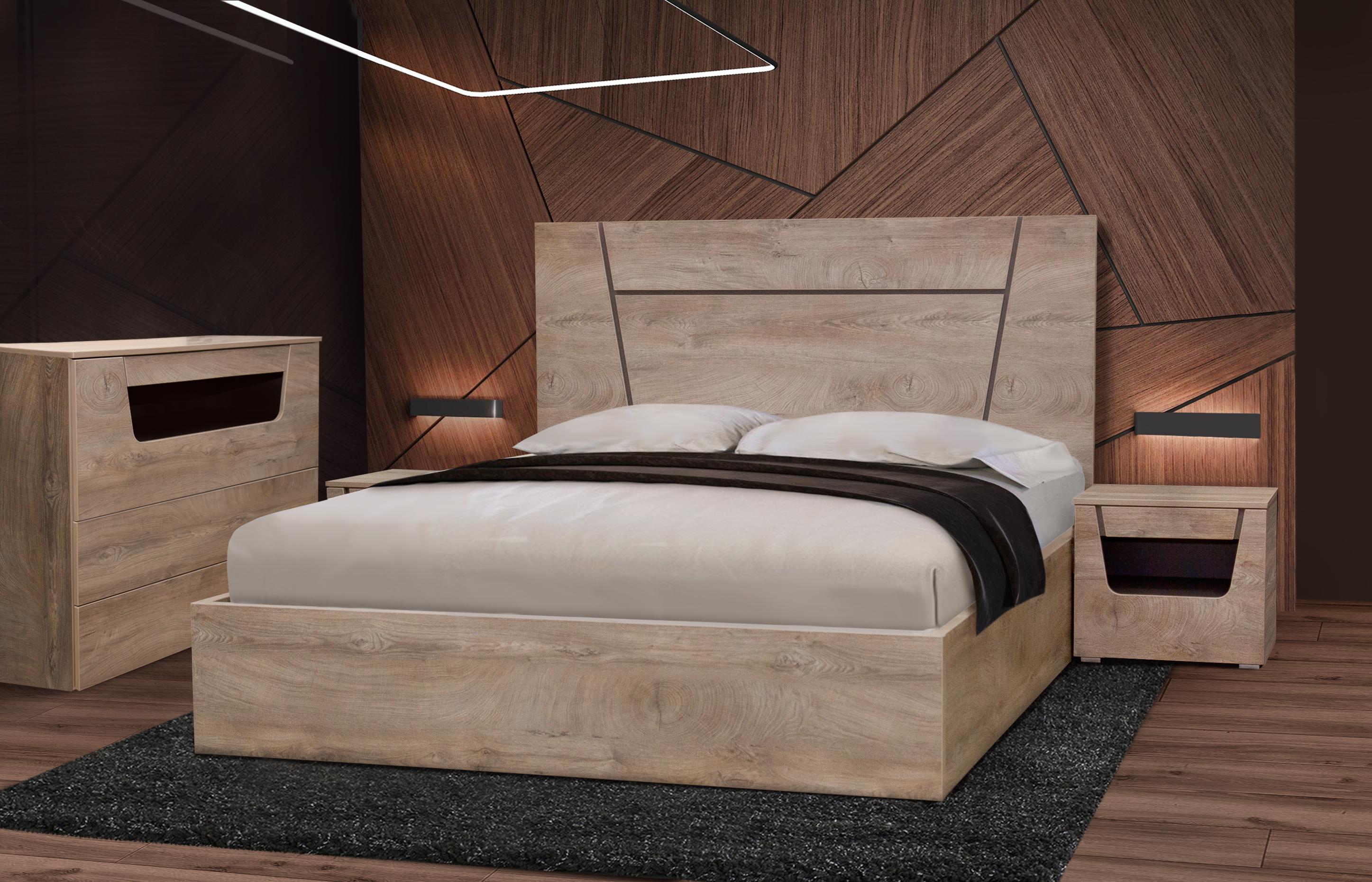 спальня Лилия с комодом