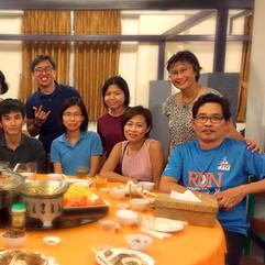 Farewell dinner and buka puasa for interns