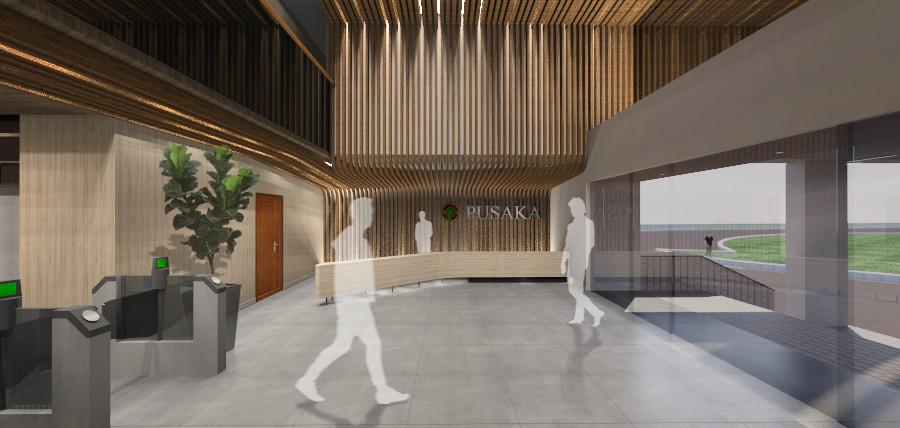 Interior Lobby Renovation