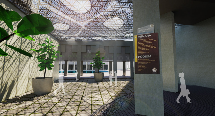 Proposed Covered Concourse
