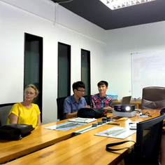 Meeting with client