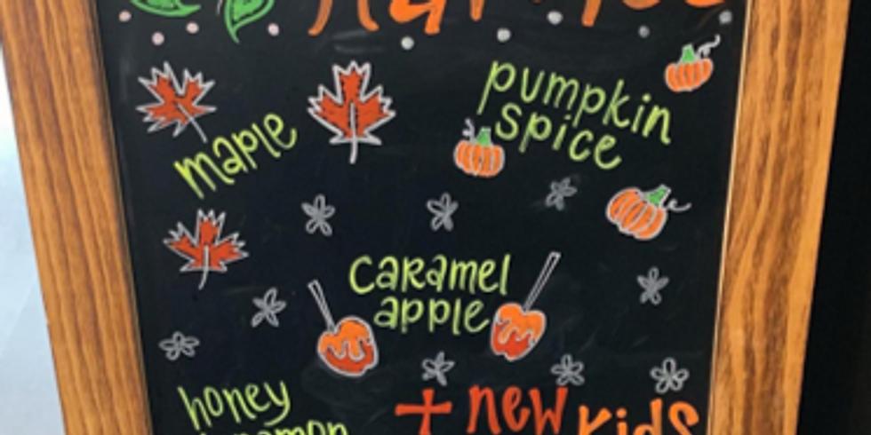 fall menu tasting!