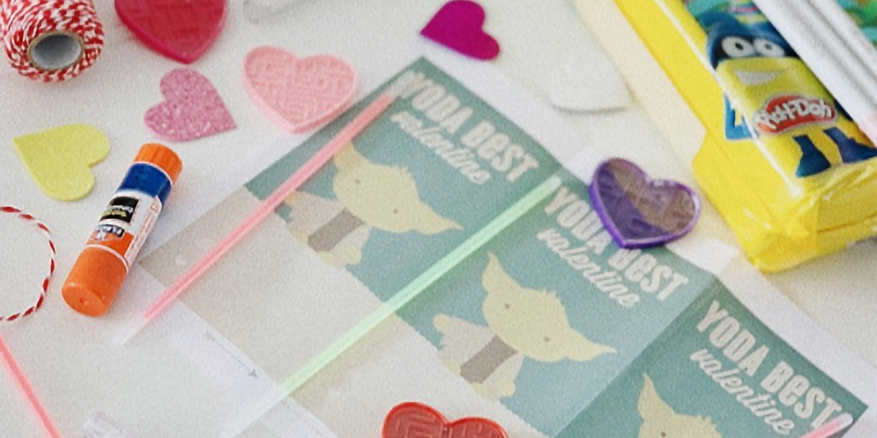 make your 25 CLASSROOM valentines with us!