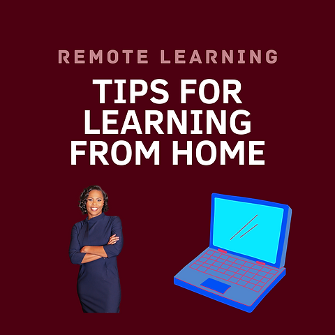 Students Remote Learning Tips Instagram