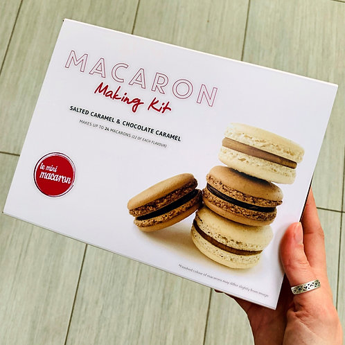 Salted Caramel & Chocolate Caramel Macaron making Kit