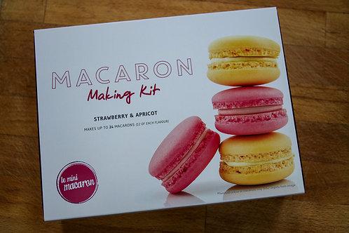 Strawberry & Apricot Macaron Making Kit
