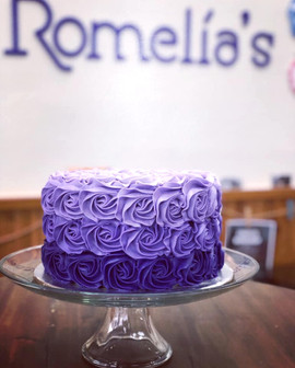 Signature Colored Cake