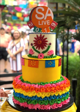 Cake made for Fiesta 2019!