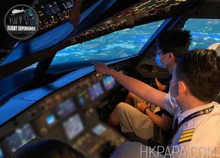 A320 Full Motion Flight Simulator