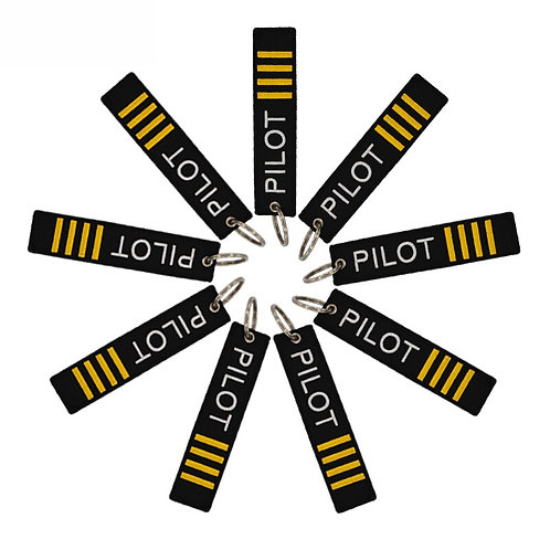 5 PCS Pilot Key Chain