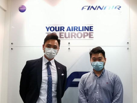 與芬蘭航空會面 Meeting with Finnair