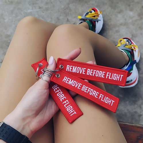 Remove Before Flight Pilot Keychains