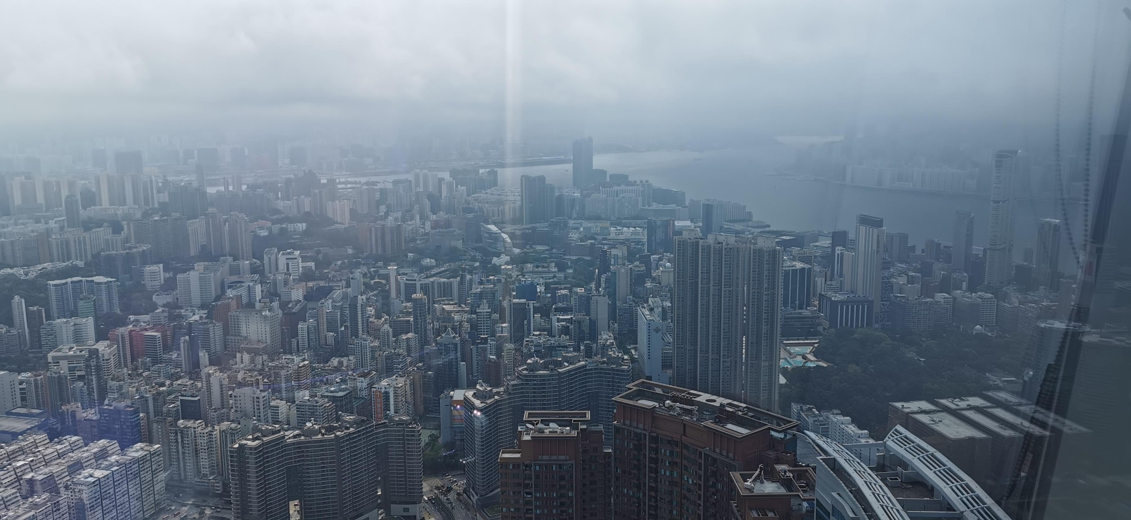 香港專業飛行員協會 ICC 景色