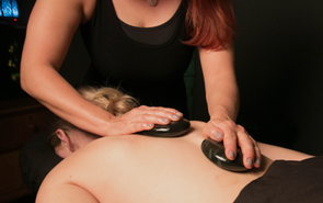 Hot Stone Therapy can help with pain relief, stress relief, increased joint flexibility, descreased muscle spasms and tension, and better sleep.