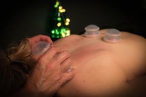 Cupping is a safe treatment that helps resolve chronic muscle tightness and pain faster than massage alone.