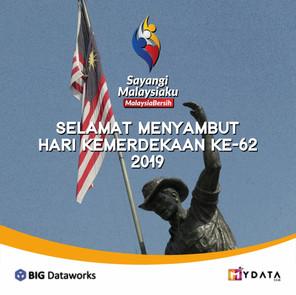 Selamat Menyambut Hari Kemerdekaan 62