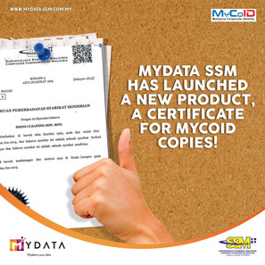 MYDATA has launched Certificates for MYCOID