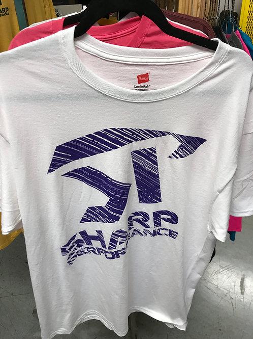 SP Short Sleeve White/Purple