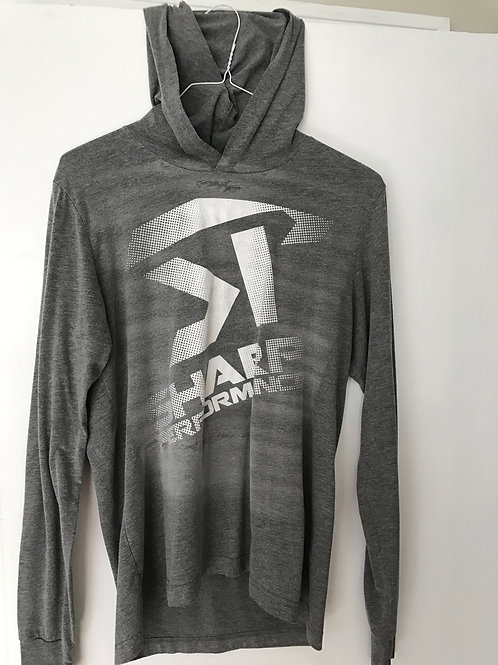SP Long Sleeve Grey/White Hooded