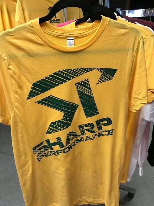 SP Short Sleeve Green/Gold
