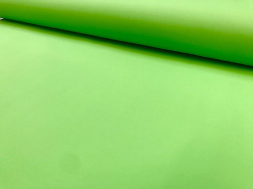 Softshell Stretch, Uni, grün, schwarz