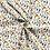 Thumbnail: Baumwollstoff,  Zootiere auf weißem Hintergrund
