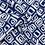 Thumbnail: Viskose, Sommerstoff, geometrisches Muster, blau, weiß, grau