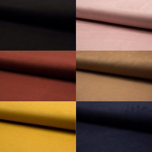 Wildleder, Kunstleder, Lederimitat, verschiedene Farben