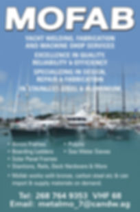 Mofab yacht Welding, Fabrication and Machine Shop Services, Antigua & Barbuda