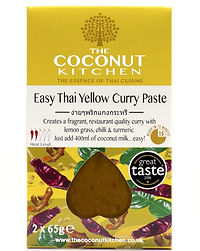 CocoKit - Easy Thai Yellow Curry Paste