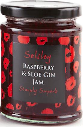 Raspberry & Sloe Gin Jam