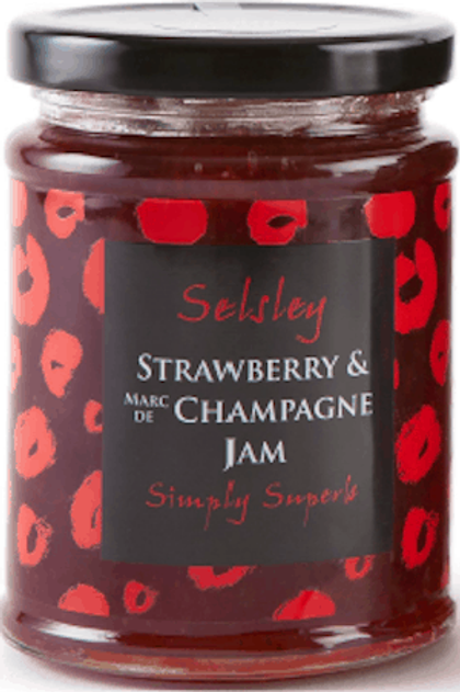 Strawberry Jam with Champagne