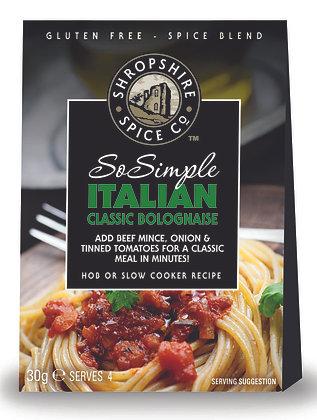 Italian Classic Bolognaise Spice Blend