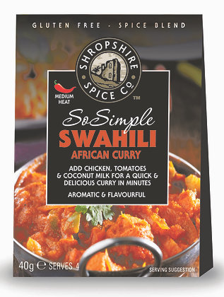 Swahili African Curry Spice Blend