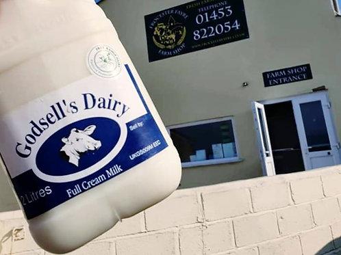 Full Cream Milk - 2 Litre