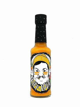 'Nuff Love Tropical Hot Pepper Sauce - 150g